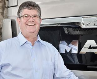 Geoff du Plessis, MD of MAN Truck & Bus SA.