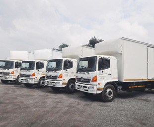 Should proposed legislation come into effect, heavy commercial vehicles – like these Hino 500s – might be some of the biggest roaming our cities.