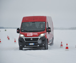 A van test – in the Arctic
