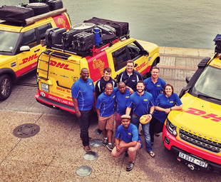 DHL takes rugby through Africa