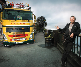 Gurra describes his truck as old-school retro with some Dutch elements.