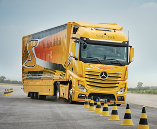 Active Brake Assist 3 allows Mercedes-Benz trucks to comply with regulations expected only in two year's time.