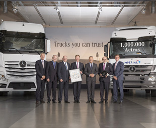 Seven-figure Actros for Imperial Logistics