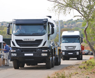 Track action with Iveco