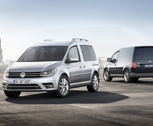Welcome, the new Volkswagen Caddy
