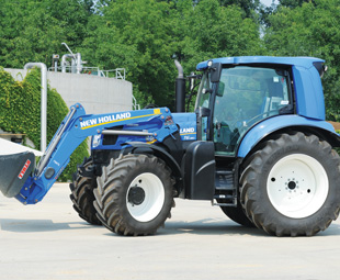 the methane tractor