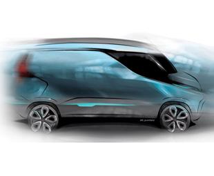 A futuristic design from the CNH team