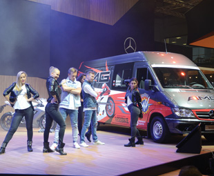 """The Mercedes-Benz Sprinter Classic is a """"made in Russia"""" success story."""