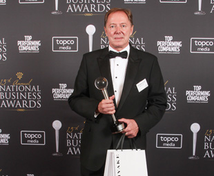 Super Group scoops Transport and Logistics award