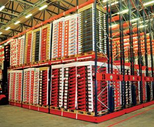 Citrus distributor FPT's advanced storage facility.