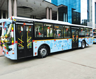 UD Buses on trial in India