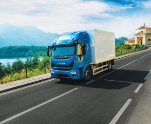 Iveco's latest Eurocargo has taken on the corporate look of its larger Stralis and Trakker siblings.