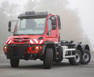Go moggy over this Unimog