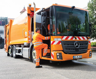 Ease of access is a major drawcard of the Mercedes-Benz Econic.