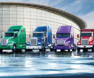 Kenworth maintained a leading market share of 20,4 percent in Australia's heavy- duty category.