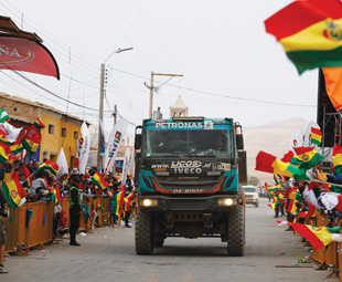 Iveco tackled the demands of Dakar with aplomb.