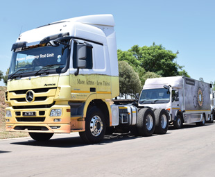 Southern Africa is seen by Daimler as a promising growth region for all its commercial vehicles.