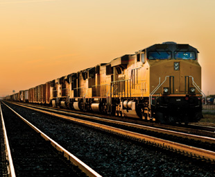 US rail service is still trying to recover from the setbacks caused by the winter of 2013-14.