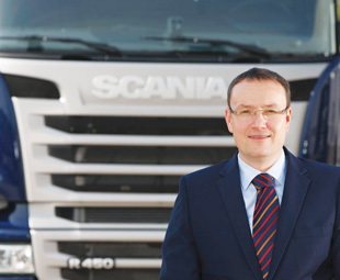 Scania Finance proactively works with the customer, says Novotny.