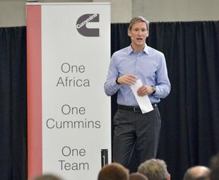 Cummins reiterates commitment to Africa