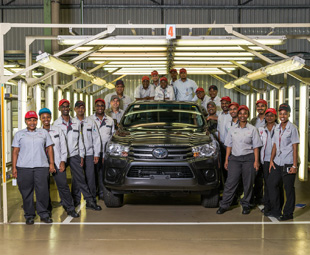 Toyota SA invests R6,1 billion to build new models