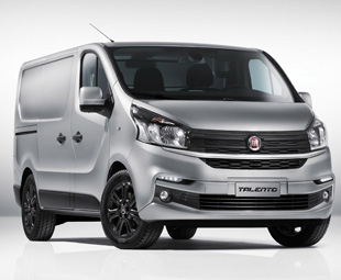 Fiat's Talento van shows an obvious resemblance to Renault's Trafic.