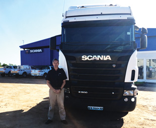 Peter Webster leads the new Scania operation in Mozambique.