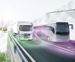 Cloud computing allows vehicles to send and receive real-time information.