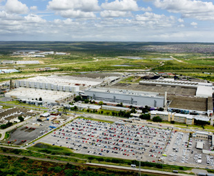 VWSA production plant top in global VW network