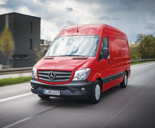 New European variants of the Mercedes-Benz Sprinter range feature improved GVM ratings and more powerful engine outputs.