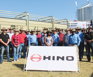 Hino SA and Mohau Group Ventures joined forces to help farmers in need.
