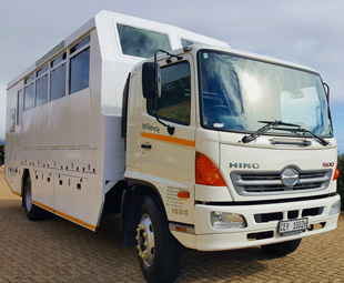 Hino the choice for overland adventures
