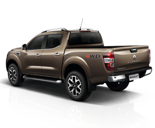 Renault introduces Alaskan one-tonner