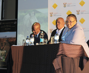 Minister of Transport Dipuo Peters comments on the establishment of a transport economic regulator.