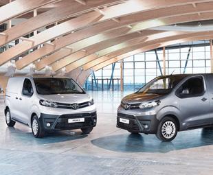 New Toyota Proace Van hits UK market