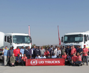 Top UD fleet driver off to Japan