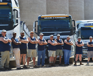 Trucks and truckers: ready for action!