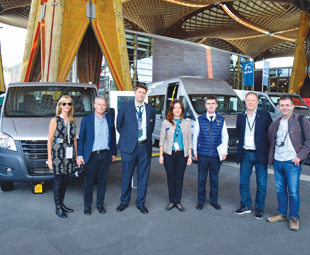 FOCUS joined a Truck of the Year jury visit to the interesting GAZ stand.