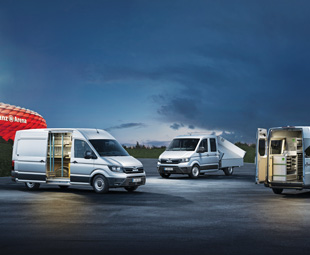 One of the really big news stories at the IAA was MAN's new van.