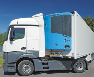 The Thermo King Hybrid Drive