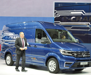 Volkswagen launches its e-Crafter.
