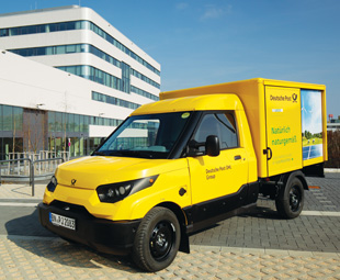 Deutsche Post DHL acquired StreetScooter in 2014, and the company is replacing 30 000 of its conventional delivery vans with these electric vehicles.