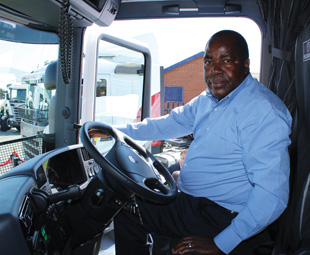 Executive chairman Chris Luvhani says the Scanias offer low lifestyle cost.