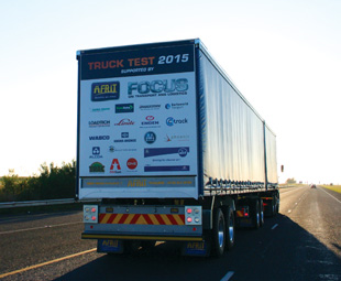 Trailers and tracking for Truck Test