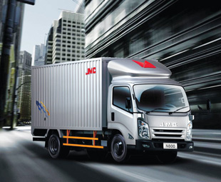 No, it's not an Isuzu, its JMC's new Conquer truck from China.