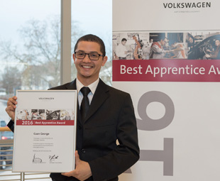 Graduate does VWSA proud