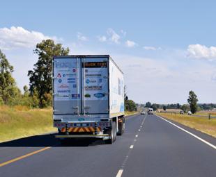 Truck Test on the horizon