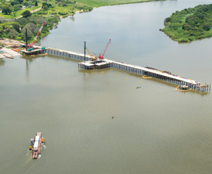 The 923-m bridge and new border facilities will make crossing the Kazungula border by ferry a thing of the past.