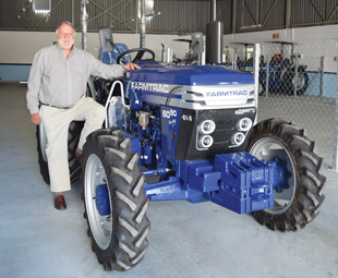 Rademeyer believes that Farmtrac tractors can uplift farmers in this country.