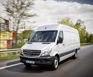 Mercedes-Benz Sprinter sets new record